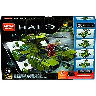 Mega Construx Halo Designer Series: UNSC Scorpion Tank