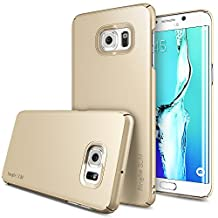 Galaxy S6 Edge Plus Case, Ringke SLIM [ROYAL GOLD] Snug-Fit & Slender [Tailored Cutouts] Essential Ultra Thin Side to Side Edge Coverage Superior Coating PC Hard Skin Samsung Galaxy S6 Edge+ Cover