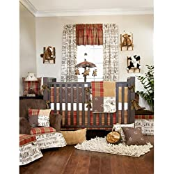 Carson 4 Piece Baby Crib Bedding Set with Bumper by Glenna Jean