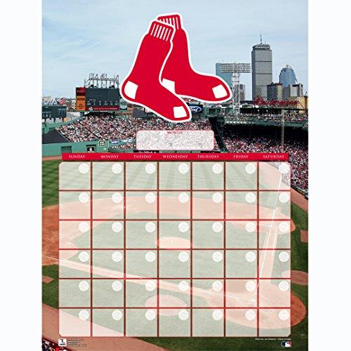Turner Perfect Timing Boston Red Sox Jumbo Dry Erase Sports Calendar (8921027)