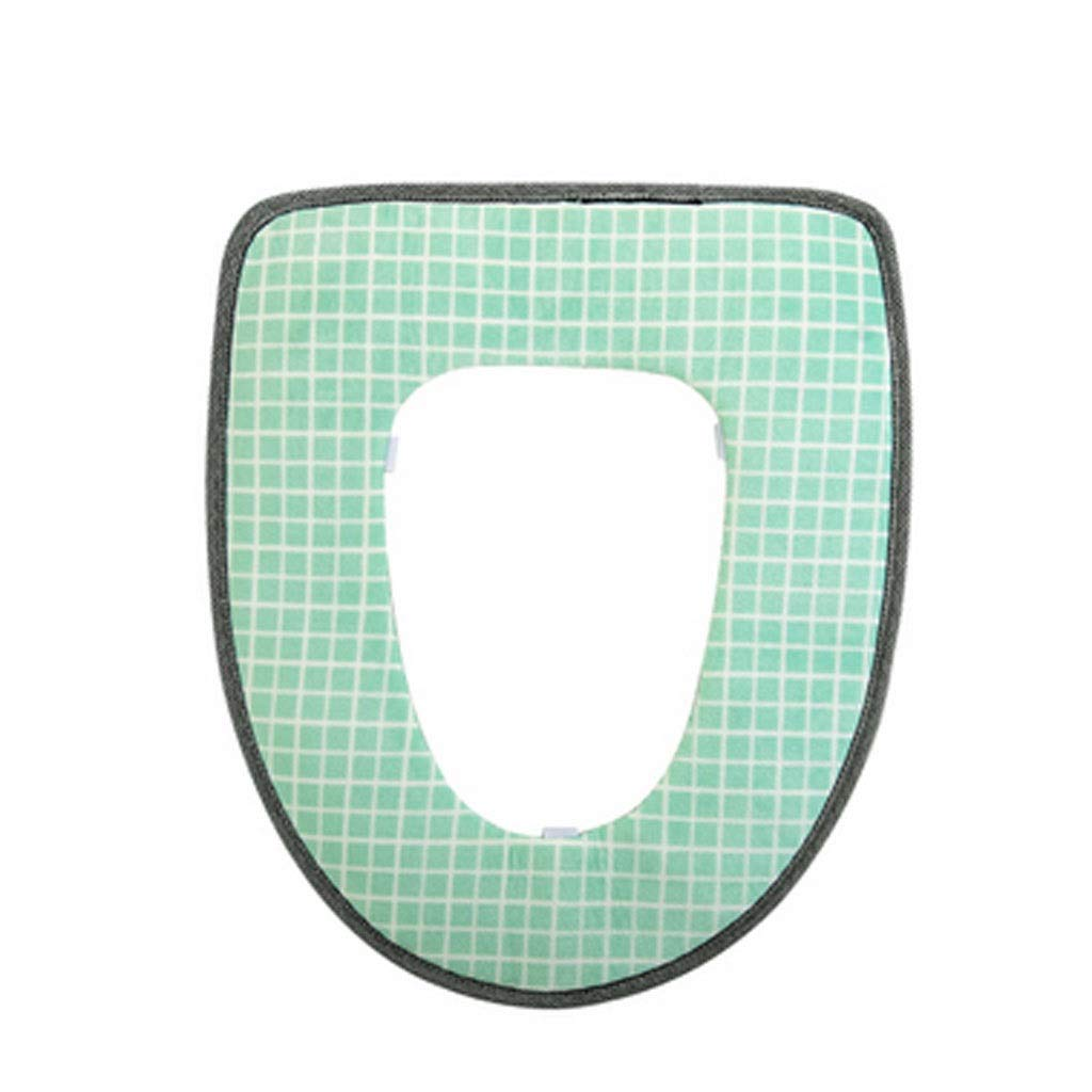 YS-FeiTeng Toilet seat Cushion Toilet seat Toilet Universal Toilet seat Toilet Toilet Toilet seat Household Warm Toilet seat Toilet seat Cushion (Color : A) by YS-FeiTeng