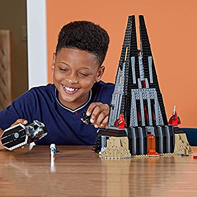 LEGO Star Wars Darth Vader's Castle 75251 Building Kit includes TIE Fighter, Darth Vader Minifigures, Bacta Tank and more (1,060 Pieces) - ( Exclusive): Toys & Games