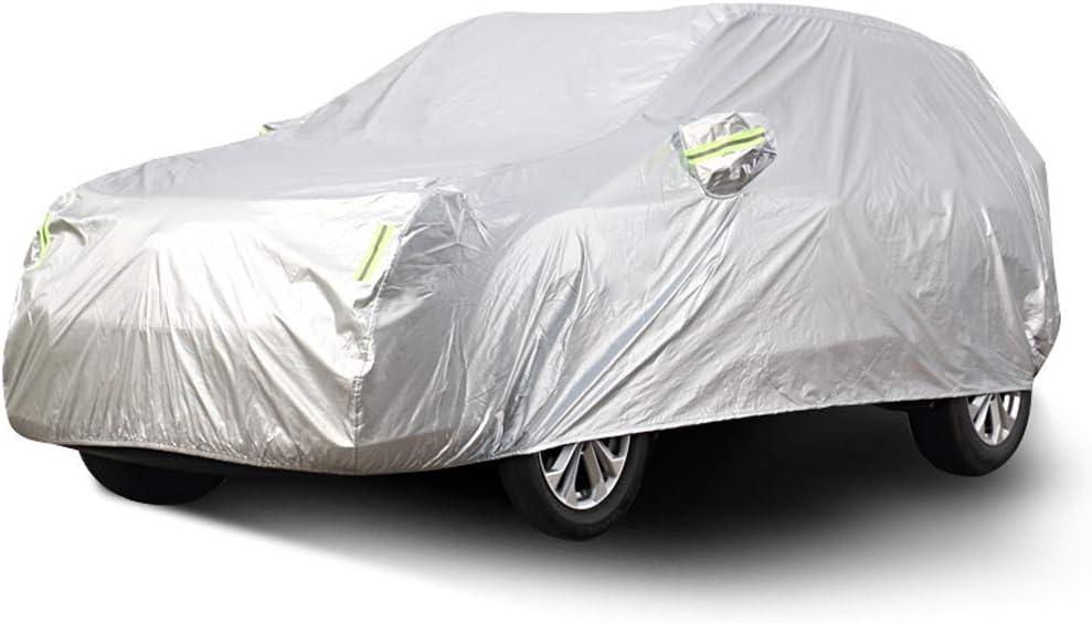 Cubierta del coche coche interior y exterior gruesa tela Oxford antiincrustantes Protección Solar lluvia caliente Modelos cubierta for Subaru interior del coche (Tamaño: 2017) LOLDF1 ( Color : 2017 )