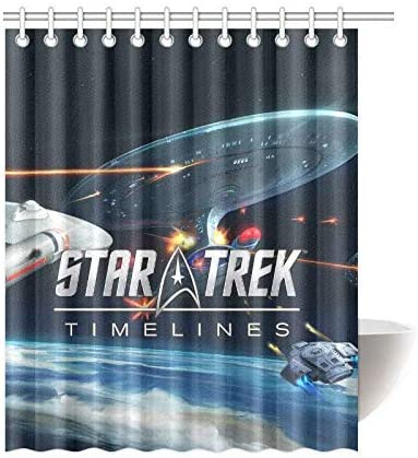 Amazon Com Custom Star Trek Fabric Waterproof Bathroom Bath Shower Curtains Sets With Hooks 66 X 72 Inch Home Kitchen