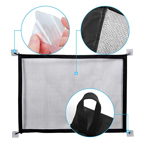 MOO&NOO Magic Gate Pet Safety Gate Portable Folding Guard Install Anywhere for Dog Cat Baby, Fits Spaces Between 32'' to 39'' Wide by MOO&NOO (Image #2)