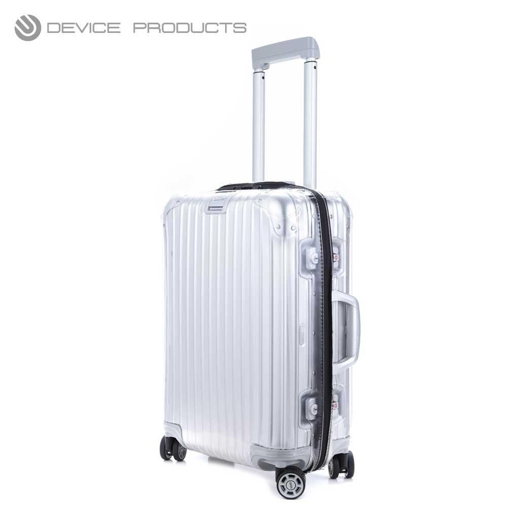 Device Products RIMOWA リモワ TOPAS トパーズ用 スーツケース カバー ファスナータイプ BLACK 【型番:923924用】※924のサイズ6373以外サイズ共通 (77型) B01M19IZ0I  77型