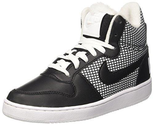 Basket Blanc Chaussures Court Femme Se ball Nike Pour Mid De Borough whiteblack wYvqgxA