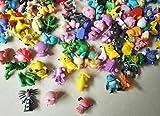 1 SET PER Lots 144pcs Pokemon Action Figures