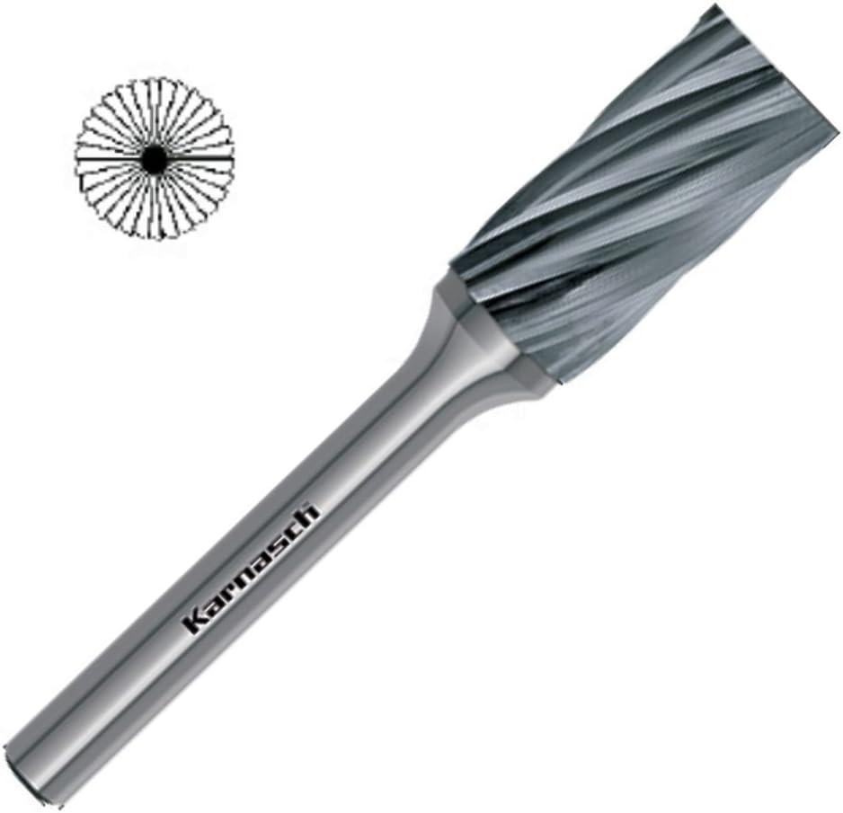 VHM Fr/ässtift Fr/äser HM ZYB mit Stirnverzahnung HP-7 /Ø=3mm Kopfl/änge=14// Schaft=3mm L/änge=38mm