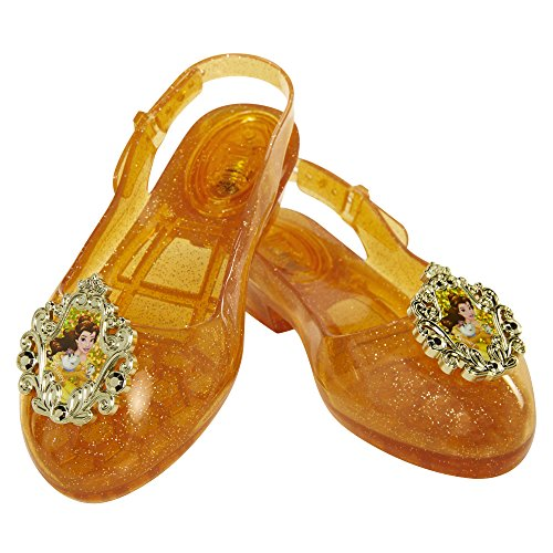 Disney Princess Belle Light-Up Shoes, Size: 9-11, [Amazon Exclusive] ()