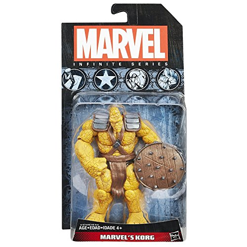 Marvel's Korg 3.75 inch action figure Marvel Infinite Series Hulk collectible figure SERIES 3