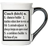 Coach Mug, Coach Coffee Cup, Ceramic Coach Mug, Custom Coach Gifts By Tumbleweed