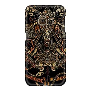 SherriFakhry Samsung Galaxy S6 Shockproof Hard Phone Covers Provide Private Custom Trendy Einherjer Band Pictures [Obi11195rmoH]