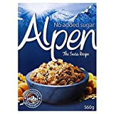 Alpen Muesli No Added Sugar (560g) - Pack of 2