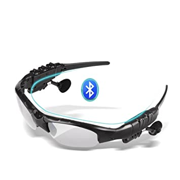 Amigo inalámbrico Bluetooth 4.1 Riding Gafas de sol gafas de sol Música Auriculares estéreo manos libres