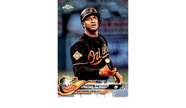 be59a3b72 Amazon.com  2018 Topps Chrome Refractors  98 Jonathan Schoop Baltimore  Orioles Baseball Card - GOTBASEBALLCARDS  Collectibles   Fine Art