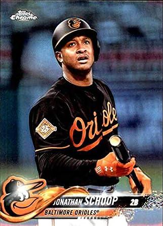 03f929dfe 2018 Topps Chrome Refractors  98 Jonathan Schoop Baltimore Orioles Baseball  Card - GOTBASEBALLCARDS