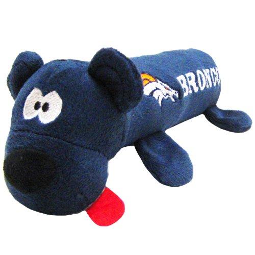 Pets First NFL Pet Tube Toy, Denver Broncos