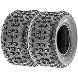 SunF Sport ATV Knobby Rear Tires 22x10-10 22x10x10 4PR A008 (Set pair of 2)