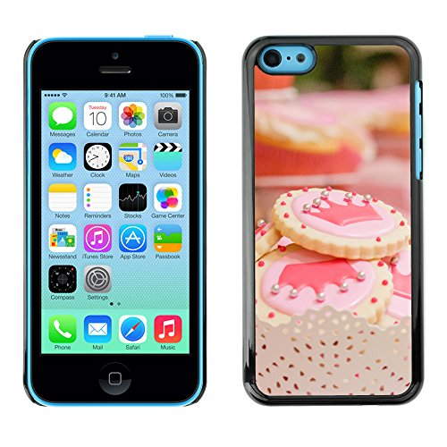 Premio Sottile Slim Cassa Custodia Case Cover Shell // F00009338 couronne biscuit // Apple iPhone 5C