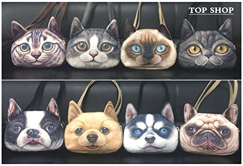 Leather Shar Tote Peekabo Cartoon Shoulder Bags Handbag Pei Cat FTSUCQ Fuax Messenger wqC5TUH