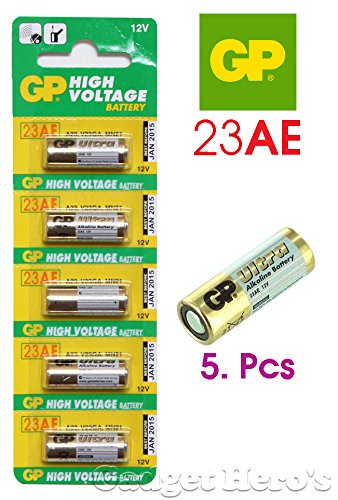 Gadget Hero s 23AE GP Battery 5 pieces pack. 12V  Amazon.in  Electronics 9b15007810984