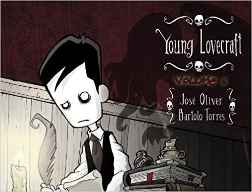 Book Young Lovecraft by Oliver, Jose (2012)