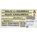 Allis-Chalmers One-Ninety Decal Kit