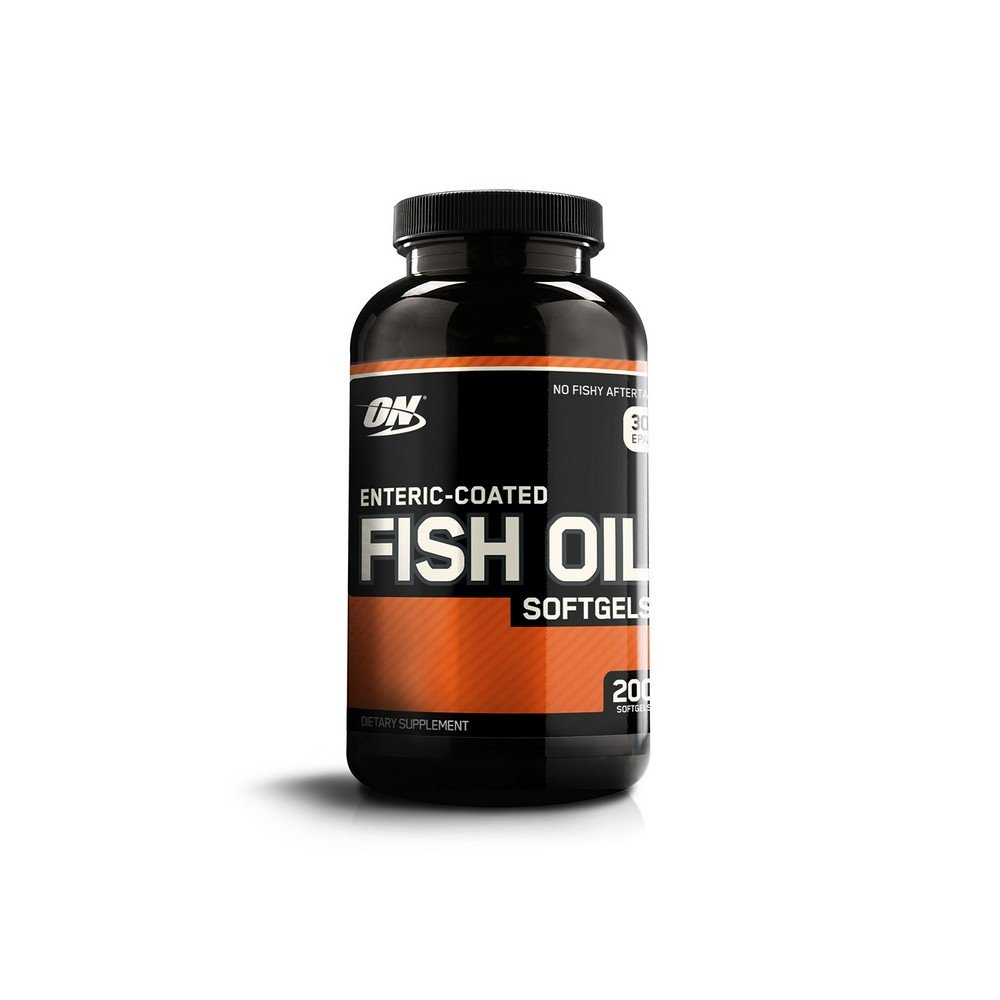 Optimum Nutrition Omega 3 Fish Oil, 300MG, Brain Support Supplement, 200 Softgels