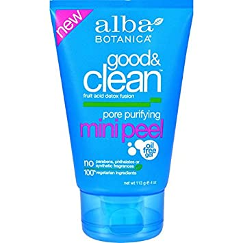Alba Botanica Good and Clean Pore Purifying Mini Peel, 4 Ounce -- 1 each