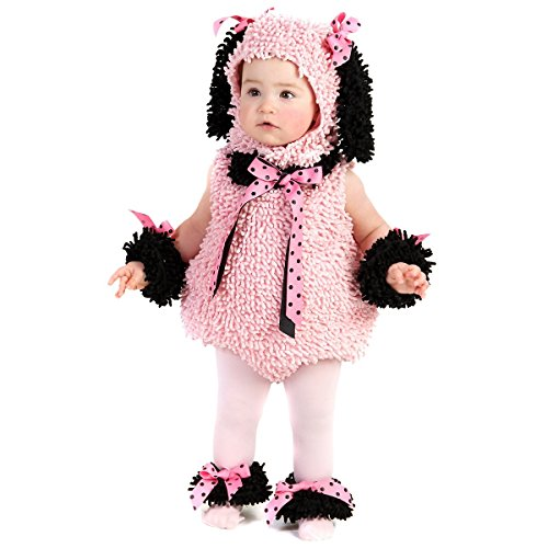 Pinkie Poodle Costume - Baby 18-24 -