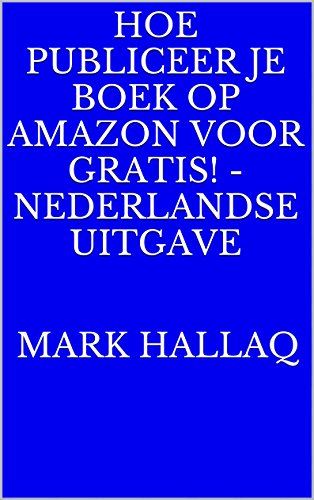 Nederlandse ebook gratis