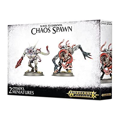 Age of Sigmar Slaves to Darkness Chaos Spawn: Toys & Games