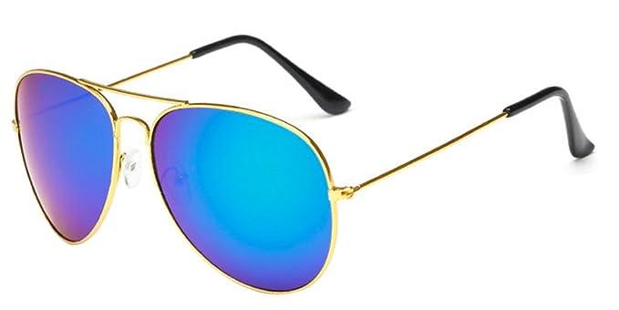 Jahrgang Retro Runde Sonnenbrille Metall Steampunk Frame für Herren und Damen