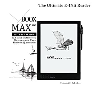 Amazon onyx boox max 133 inch e ink reader android 40 ebook readers fandeluxe Gallery