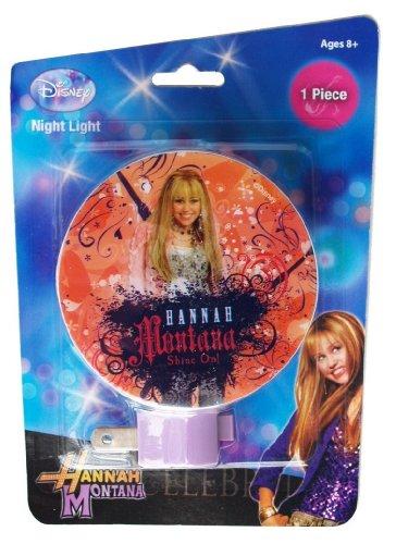 Montana Night Light - Disney Hannah Montana