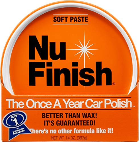 Nu-Finish NFP-80 Paste Car Polish, Better Than Wax
