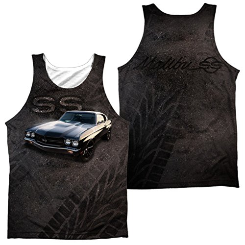 Tank Top: Chevy- Muscle Chevelle SS (Front/Back) (Front/Back) Size ()