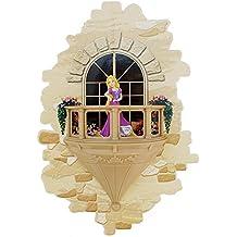 3DLightFX Disney Princess Rapunzel Balcony 3D Deco Light
