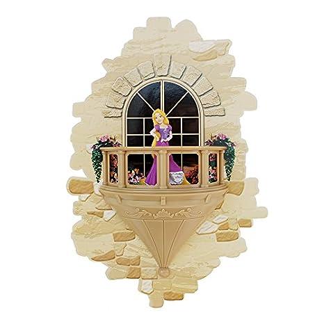 Superbe Amazon.com: 3DLightFX Disney Princess Rapunzel Balcony 3D Deco Light: Toys  U0026 Games