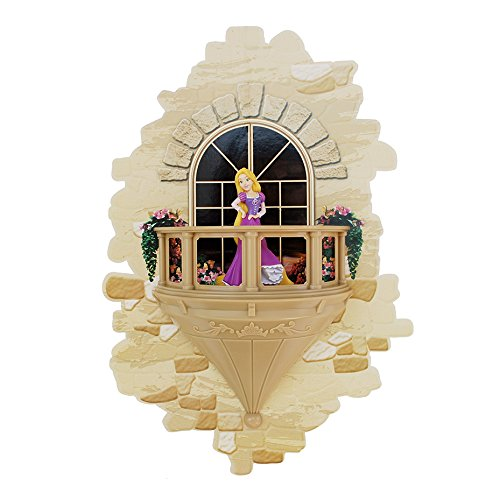(3DLightFX Disney Princess Rapunzel Balcony 3D Deco Light )