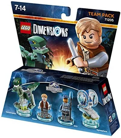 Lego Dimensions - Jurassic World - Team Pack by Warner Bros. Interactive Entertainment: Amazon.es: Videojuegos