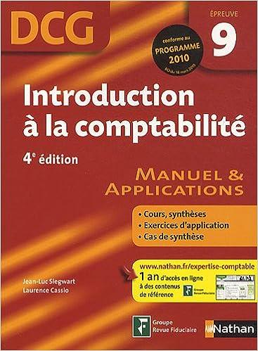 Livre gratuits en ligne INTRODUCTION COMPTA EPR 9 DCG pdf