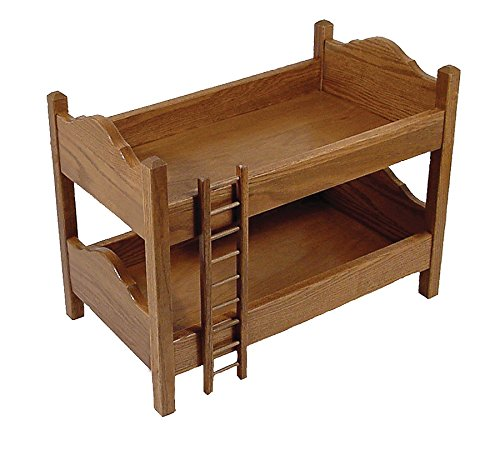 Toy Doll Oak Bunk Bed by Furniture Barn USA