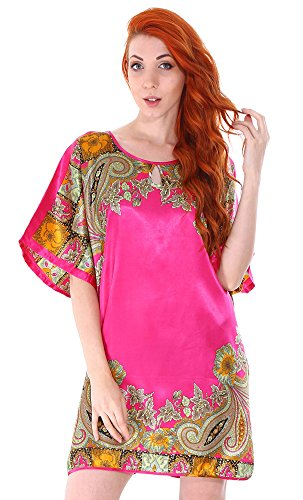 Simplicity Womens Batwing Sleeve Nightgown