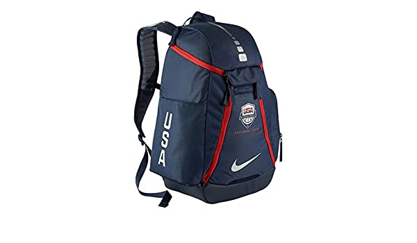 Nike Hoops Elite Max Air 2.0 Team USA Olympics Basketball Backpack BA5280  (Midnight Navy Midnight Navy Metallic Silver) d7d15f9aaf021
