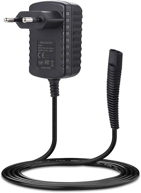 SoulBay Cargador de 6V para Braun Afeitadora Eléctrica Series 1 ...