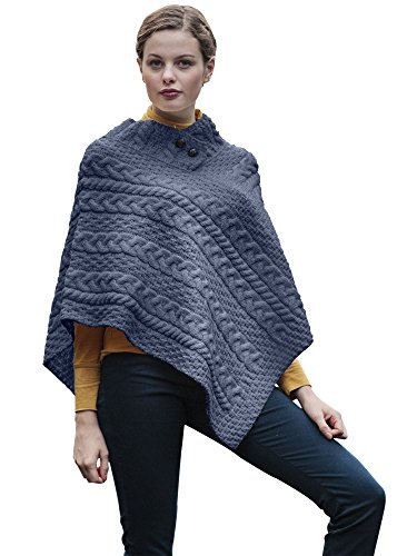 ladies-wool-irish-poncho