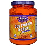 Soy Protein Isolate Natural Vanilla by Now Foods - 2 lbs