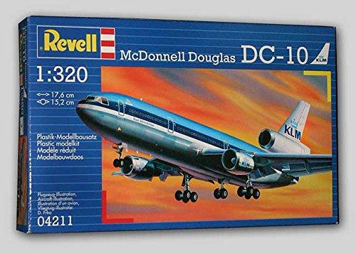 Revell 1:320 Scale Aeroplane Mcdonnell Douglas DC10 ()
